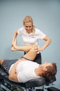Kne: hofte-Undersøkelse